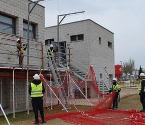 Alsina SIP colabora con la FLC en el curso de protecciones colectivas