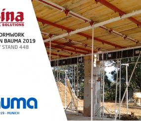 Alsina estará presente en la Feria bauma 2019