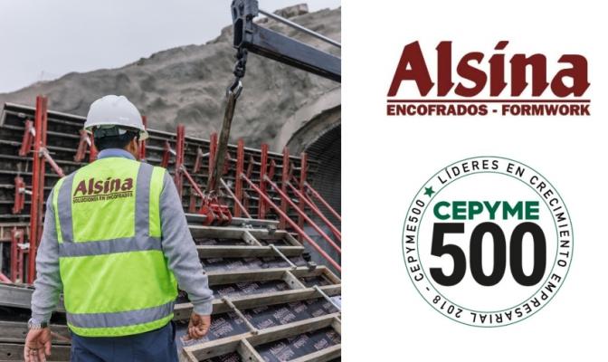 Alsina recibe el premio CEPYME500