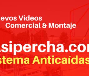 ALSINA EDITA NUEVOS VIDEOS SOBRE SU SISTEMA ALSIPERCHA